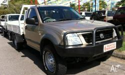 HOLDEN,RODEO,RA MY06 UPGRADE,2006, 4x4, gold, C/CHAS,