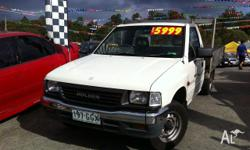 HOLDEN,RODEO,TF G6,1996, Pearl White, C/CHAS, 2.6L,