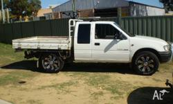 HOLDEN,RODEO,TFR9,2001, RWD, WHITE, SPACE CAB P/UP,