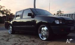 Holden Rodeo 2001 3.2l v6 automatic Its only done