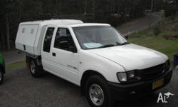 2001 Holden Rodeo in very good condition with tinted