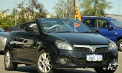 HOLDEN,TIGRA,XC MY06,2005, FWD, Black, 2D CONVERTIBLE,
