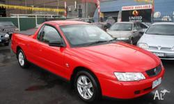 HOLDEN, Ute, VY II, 2003, Rear Wheel Drive, RED, 2dr