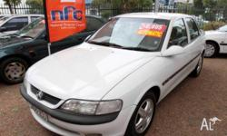 HOLDEN,VECTRA,1998, WHITE, SEDAN, AUTOMATIC, 171000kms,