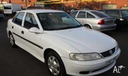 HOLDEN, VECTRA, JSII, 2000, FWD, WHITE, 4D SEDAN,