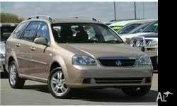2006 Holden Viva wagon in excellent condition. Extras