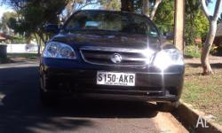 HOLDEN VIVA JF, 2006METALLICBLACK, 4 DOOR SEDAN,