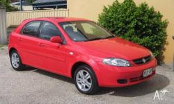 HOLDEN,VIVA,JF MY07,2007, FWD, RED, 5D HATCHBACK,