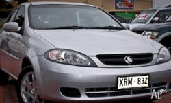 HOLDEN,Viva,JF MY08,2008, Front Wheel Drive, SILVER,