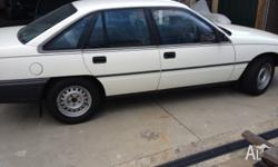 1991 model vn commodore, V6, automatic. I will be
