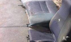Up for sale is the front and rear seats from a 1997 Vs