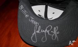 1X SIGNED HAT WORN BY HIM IN A PERTH CROWN PERFORMANCE