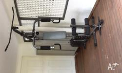 Home gym, That's great condition, works well, all