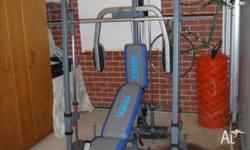 York Smith Machine Home Gym. As new, will not fit in
