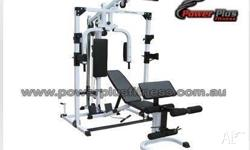 Home Gym Ideal for whole body work out comes with all