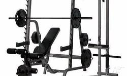 1 x Bench Press�Squat Rack comes with 2 x Weight Bars &