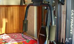 For sale home gym - weights. In excellent Condition.
