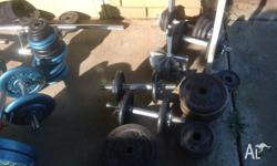 Complete York home gym in very good condition, extra