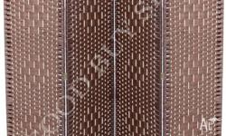 Large 170cm 4 Panel Rattan Folding Privacy Screen The