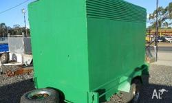 HOMEMADE ATM UP TO 1.02T, 1996, GREEN, Box Trailer,