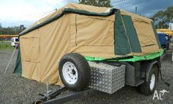 homemade camper trailer, 2010, BROWN, Here is a brand