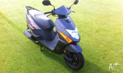 Honda scv100f scooter! Only done 70km practically brand