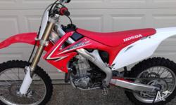 HONDA 2010 CRF 450 Fuel injected With 70 hours since