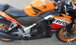 HONDA 2013 CBR 250r REPSOL One of the best 250's on the