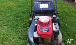 Honda 216 professional lawn mower for sale. 6 years