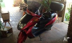 Hi I am selling my Honda 250cc foresight 1999 model