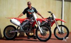 HONDA,450CC,2009, MOTOCROSS, .4, 1cyl, 5sp MANUAL,