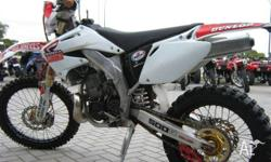 HONDA,,9,2010, WHITE, MOTOCROSS, 475cc, 5 SPEED MANUAL