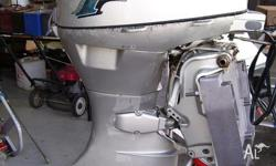 This motor is a Honda 50hp 4/stroke - remote - 2005