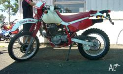 HONDA,600CC,1996, ENDURO, 591cc, 5 SPEED MANUAL, VIN: