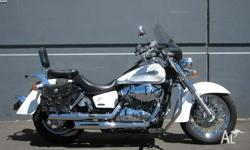 HONDA,750CC,2007, CRUISER, .7, 2cyl, 5sp MANUAL,