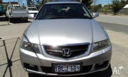 HONDA,ACCORD,2003, FWD, SILVER, BLACK trim, 4D SEDAN,
