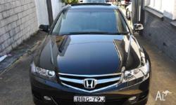 HONDA,ACCORD,MY06 UPGRADE,2007, FWD, BLACK, 4D SEDAN,