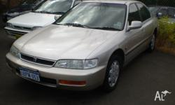 HONDA, ACCORD, 1996, FWD, SILVER, 4D SEDAN, 2156cc,
