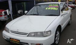 HONDA,ACCORD,1994, FWD, WHITE, 4D SEDAN, 2156cc, 107kW,