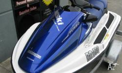 HONDA AQUATRAX F-12X (GPScape) MY06, 2006, Blue white,