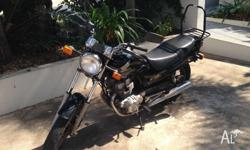 Honda CB 250 complete with rear frame & bag, x2