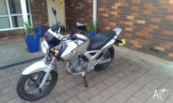 Selling a 2007 Honda CBF 250 - Never been dropped.