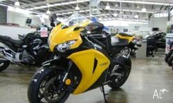 HONDA,CBR1000RR (FIREBLADE),8,2008, BLACK/YELLOW,