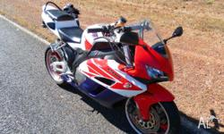 CBR1000 very clean bike, polished rims, power