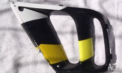 Honda CBR600RR side fairing scope Weld or Q bond repair
