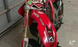 For sale is my 2007 model honda CR250R. Last of the
