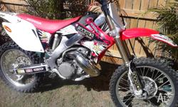 Honda CR 500 AF built from 2009 CRF 250 alloy frame,97