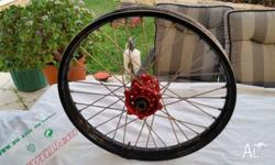 Front wheel, Talon Hub Excel Rim to suit all model