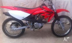 Bike in very good condition, recently serviced, paddock