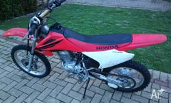 For sale CRF150F, 2006 - 2007. good condition. New